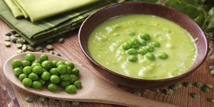 ar galima valgyti žirnių sriubą su hipertenzija