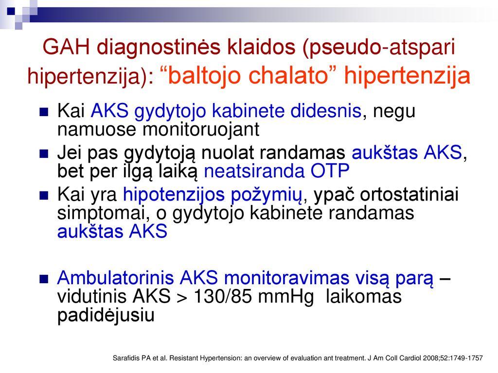 hipertenzija yra blogai, ar ne