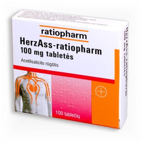 Acetilsalicilo rūgštis L 100mg tabletės N30