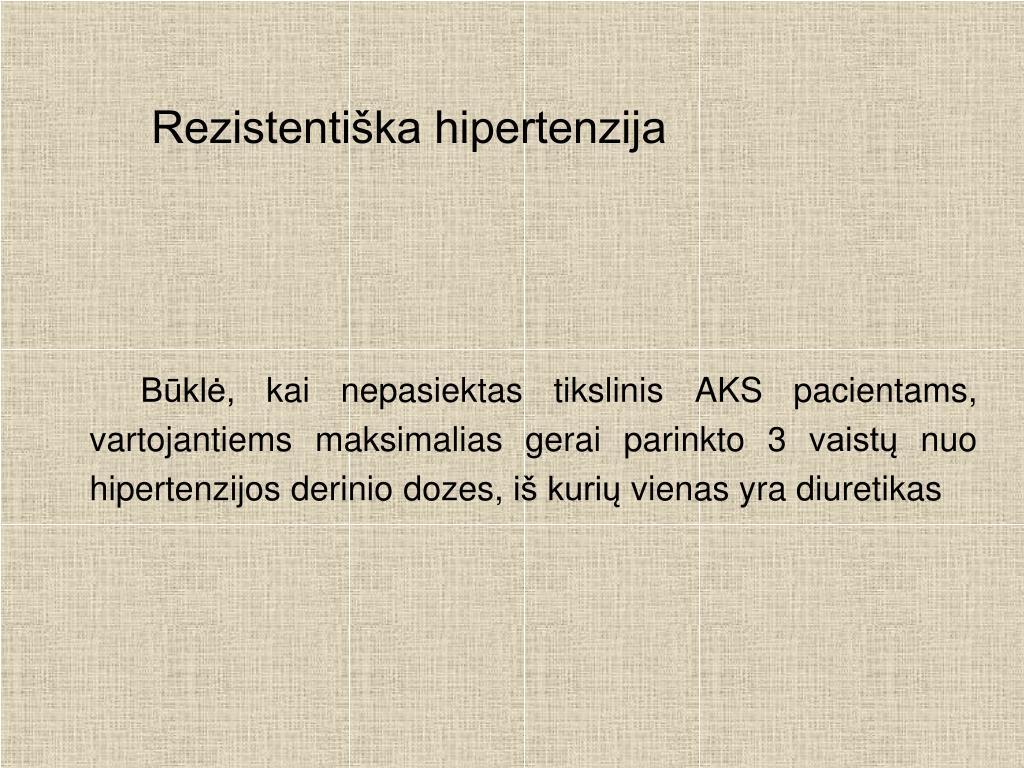 vakaro vaistai nuo hipertenzijos)