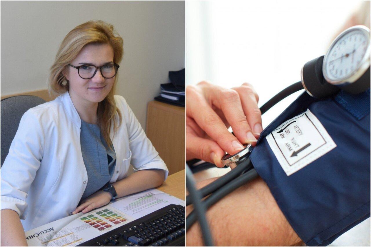 gebėjimo dirbti su hipertenzija tyrimas