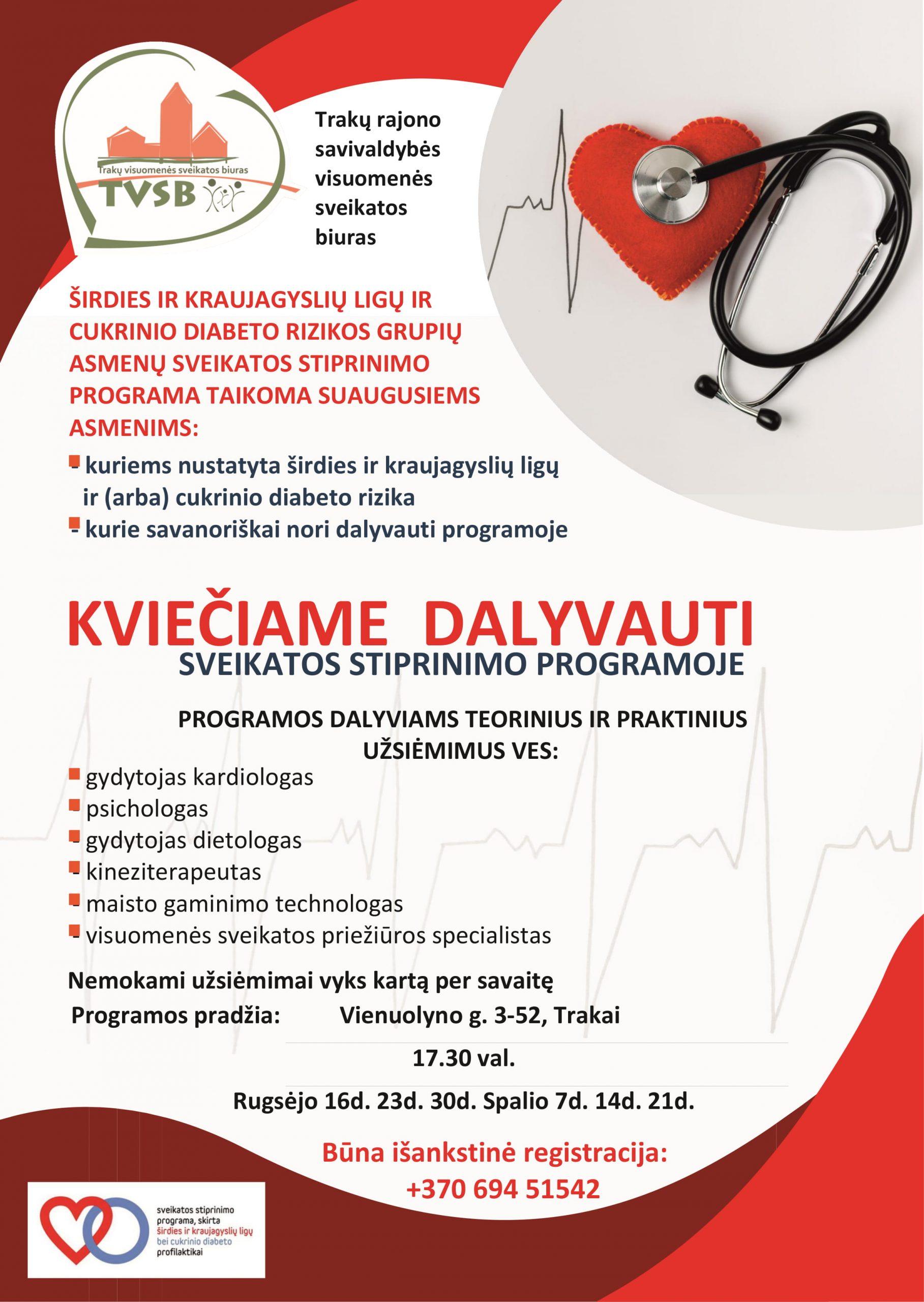 hipertenzijos sveikatos programa
