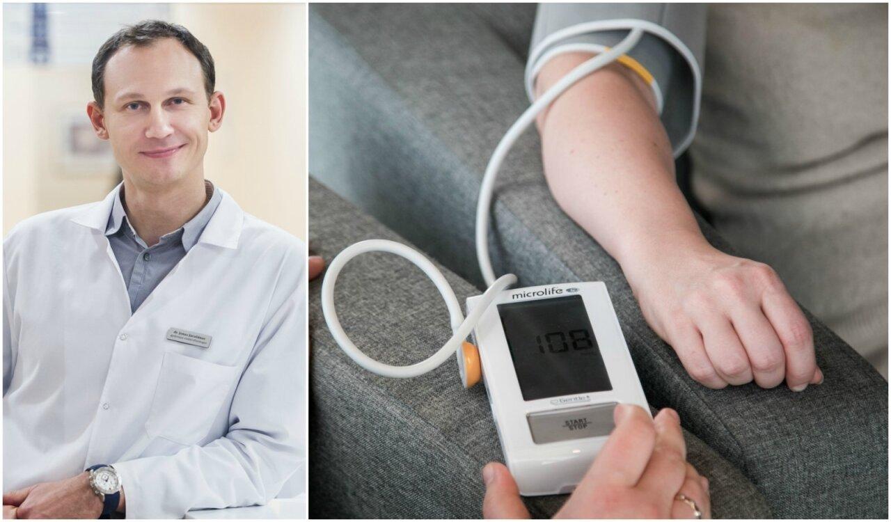 kas gali padėti sergant hipertenzija
