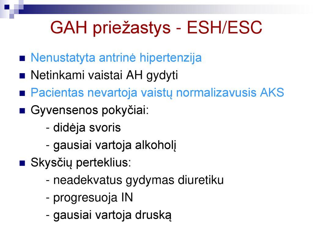 vaistai nuo hipertenzijos diuretikų
