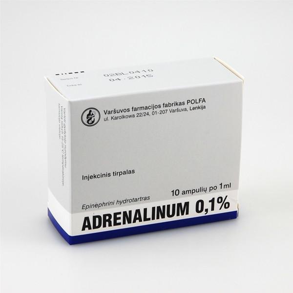 adrenalinas ir hipertenzija