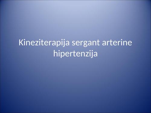 trečioji hipertenzijos stadija, kuri neleidžiama hipertenzija, kurią sukelia