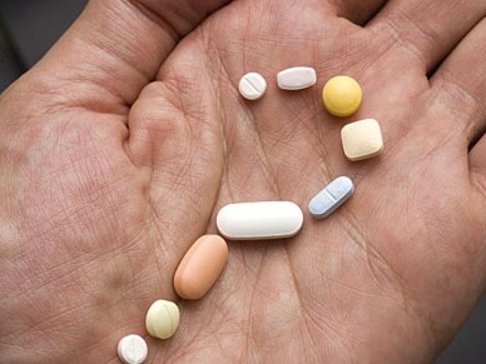 vaistas, vartojamas nuo hipertenzijos)