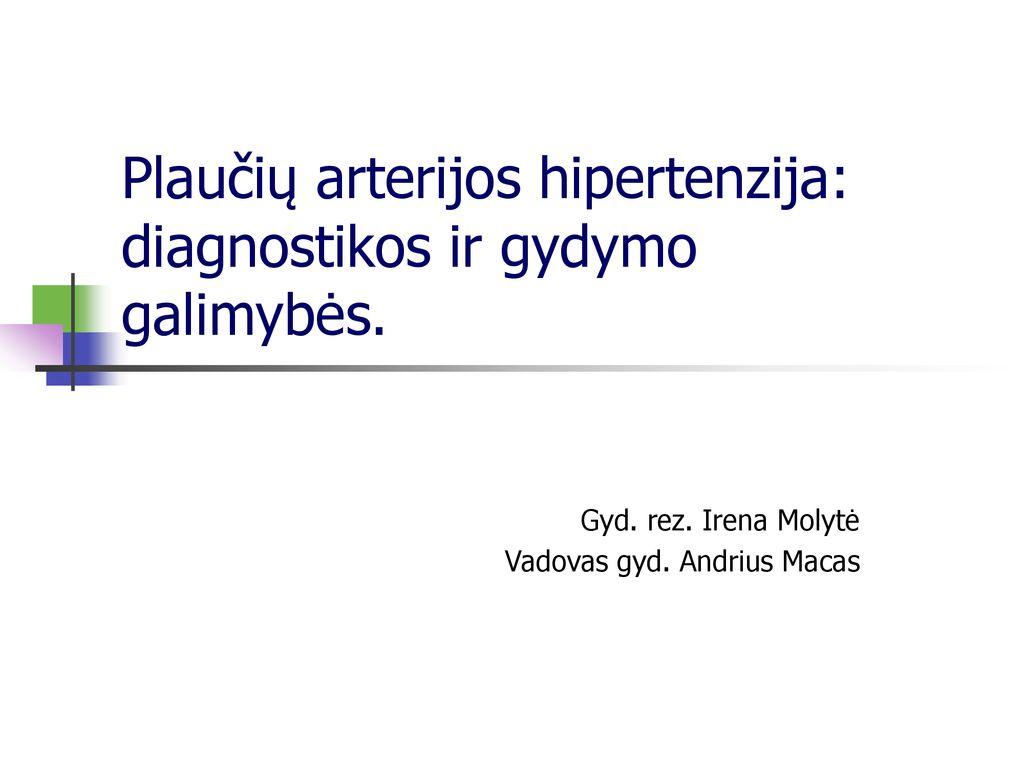 neuromultivitas ir hipertenzija