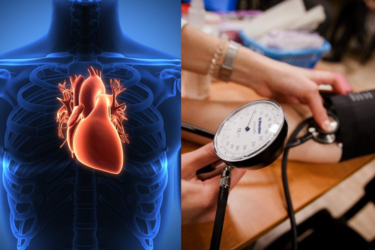 hipertenzija širdies garsai)