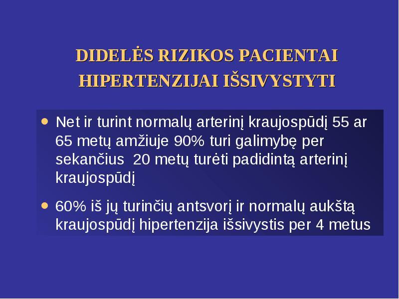 išeminė širdies liga ir hipertenzija)