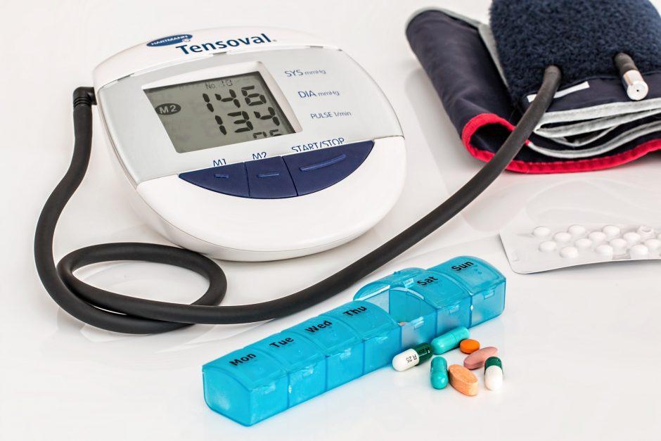 pradurkite vitaminus nuo hipertenzijos