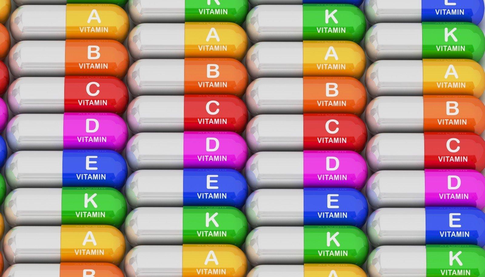 vitaminų trūkumas ir hipertenzija)